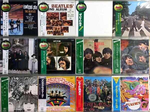 【岐阜店】ビートルズ国内盤・帯付LP追加