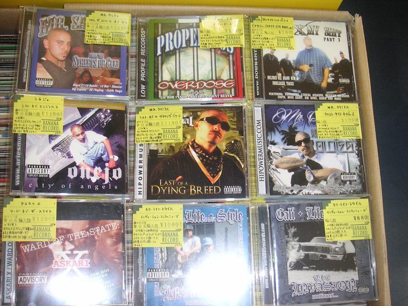 【本店】GANGSTA RAP CD 追加