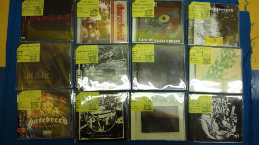 【アスナル金山店】パンク/ハードコアCD追加