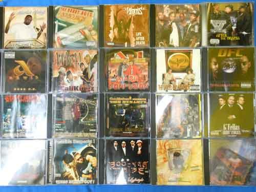 【金山店】G-RAP CD追加