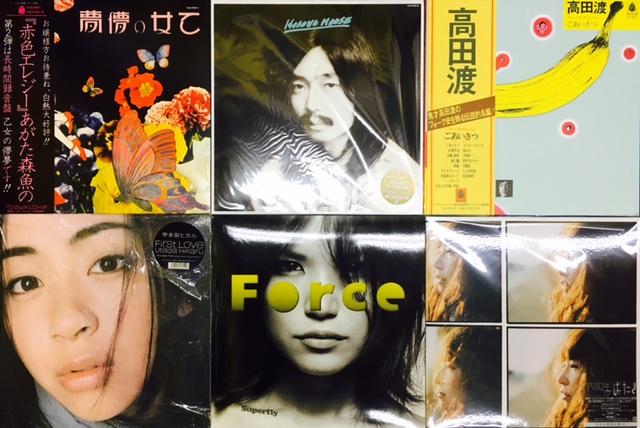 【金山店】新入荷J-POP LP追加