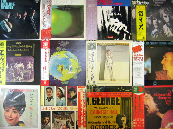 【大須店1F】ロック/日本LP120枚追加