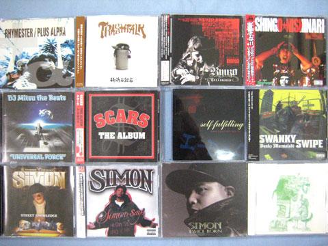 【大須店2F】日本語RAPの厳選CDを30枚追加