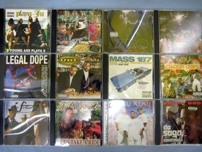 【大須店2F】GANGSTA RAP CD 追加