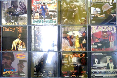 2FGANGSTA RAP CD 