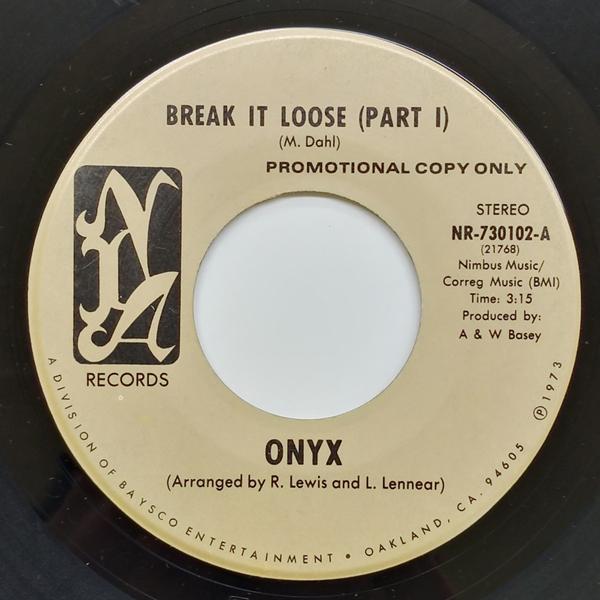 【大須店2F】Onyx - Break It Loose 入荷