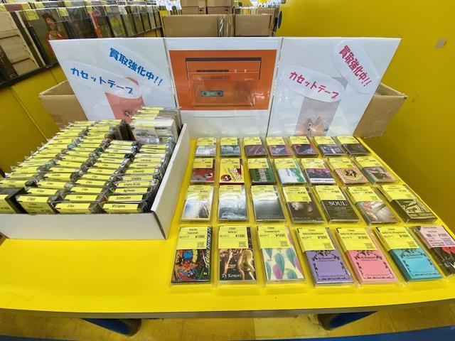 【大須店2F】7月3週 新入荷カセットテープ